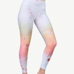 Leggings - WHITE SPARKLES