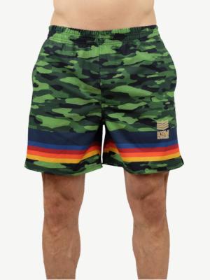 Shorts - GREEN CAMO